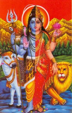 Union of Shiva and Parvati - They complete each other!