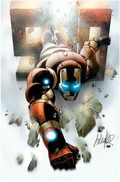 Iron Man Armor Model 37 by Salvador Larroca