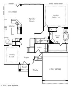 Kingston, first floor, 3780 sq ft Master Bath, Master Bedroom, Kingston, Foyer, Family Room, Porch, Floor Plans, Flooring, How To Plan
