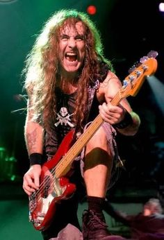 Steve Harris (A Matter Of Life And Death Tour - 2006/07)