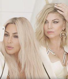 """Fergie e Kim Kardashian em cena de """"M.I.L.F. $"""" (Foto: Divulgação)"""
