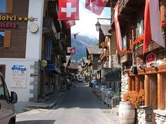 Champery, Switzerland... if I could go back and visit one place in Europe, this would be it!