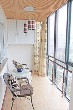 IKEA balcony decoration effect chart greatly entire 2016