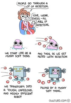 """14 Times Owlturd Comix Totally Nailed The Struggles Of Life - Funny memes that """"GET IT"""" and want you to too. Get the latest funniest memes and keep up what is going on in the meme-o-sphere. Really Funny Memes, Stupid Funny Memes, Funny Relatable Memes, Funny Texts, Funny Cute, Haha Funny, Hilarious, Life Comics, Fun Comics"""