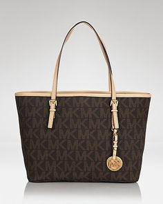 MICHAEL Michael Kors Tote - Jet Set Travel Small | Bloomingdales