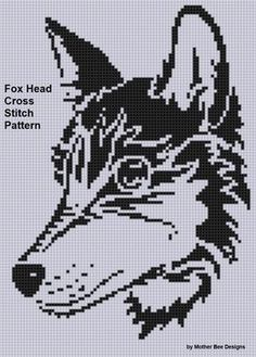 Name: 'Embroidery : Fox Head Cross Stitch Pattern Cross Stitch Alphabet, Cross Stitch Animals, Cross Stitch Charts, Embroidery Patterns, Cross Stitch Patterns, Knitting Patterns, Plastic Canvas Crafts, Plastic Canvas Patterns, Dog Chart