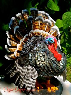 Thanksgiving Turkey - Not This Year! - cake by Sandra Smiley