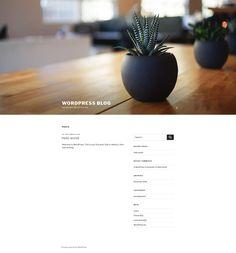 A fresh installed blog Earn Money, Affiliate Marketing, Wordpress, Fresh, Blog, Earning Money, Blogging