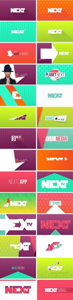 NEXT TV - Branding on Behance: