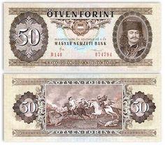 Hungary 50 Forint 4.11.1986 (Prince Rakoczi, battle)