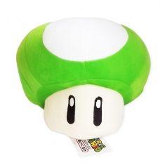 Pelúcia Cogumelo 1 UP (Super Mario Bros) | Loja Quarto Geek