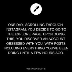 47.1k Likes, 908 Comments - Writing Prompts (@writing.prompt.s) on Instagram