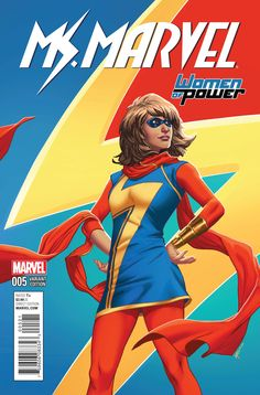 TOO MUCH OF A GOOD THING • Unjustly ousted from the Avengers. Flunking advanced physics. Getting beat by B-team bad guys. Life is a mess for Ms. Marvel. • Fed up with failing, Kamala teams up with her