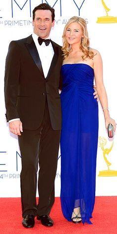Jennifer Westfeldt @ the Emmys'. Also, Jon Hamm looks pretty hot...as usual.