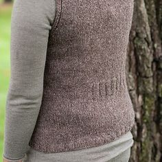 Roustabout - a seamless top-down vest. http://ift.tt/1X3Wh3n