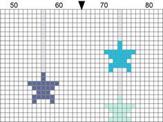 BIRTHDAY STAR RECORD counted cross stitch pattern new boy