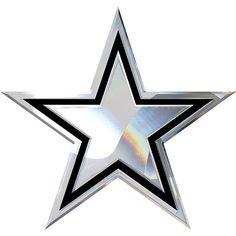 Dallas Cowboys Chrome Metal Star Emblem | Automotive | Accessories | Cowboys Catalog | Dallas Cowboys Pro Shop