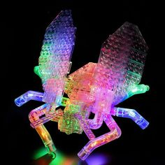 Laser Pegs for a World Of Bugs ! The LED parts let you make 16 gloriously glowing illuminated different insects.