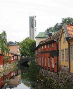 Svartån Västerås #ScanAdventures Travel Around The World, Around The Worlds, Kingdom Of Sweden, Stockholm Archipelago, This Side Of Paradise, Scandinavian Countries, Wooden Houses, Travelogue, Study Abroad
