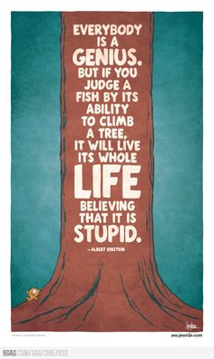 Well said, Mr Einstein!