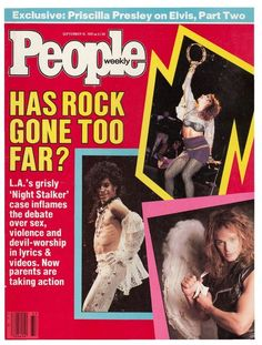 The 23 Most '80s Covers Of People Magazine