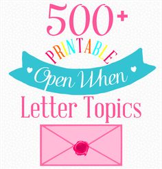 Open when letters are a bit of a viral phenomenon among the LDR community. Parents are sending them to far away college students, husbands send them to wives and a huge chunk of many other types of long distance couples are using them as a way to be there for that special someone despite being …