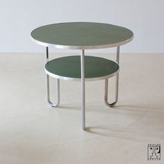 Mauser tubular steel table 1950