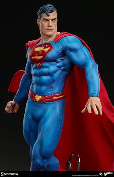 The Superman Premium Format™ Figure Soars into Your Collection! | Sideshow Collectibles