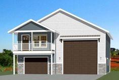 House Plans with Rv Garage - House Plans with Rv Garage , Excellent Floor Plans Guest House Plans, Garage Guest House, Porch House Plans, Courtyard House Plans, Small House Plans, Car Garage, Modern Courtyard, Above Garage Apartment, Garage Apartment Plans