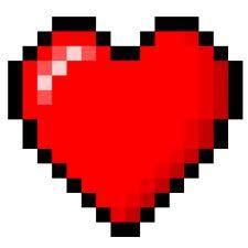 Heart In Minecraft Pixel Art Episode 4! Minecraft Project