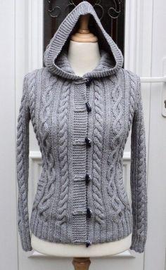 Gilet femme Valérie - explications tricot - Modèles de tricot chez Makerist