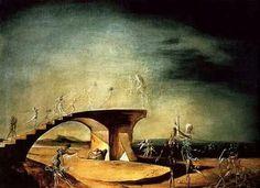 Salvator Dali Broken Bridge.