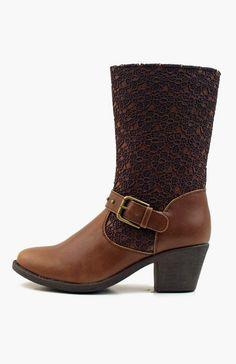 Luckers Crochet Decor boots