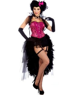 Adult Sexy Lady Carmen Burlesque Costume