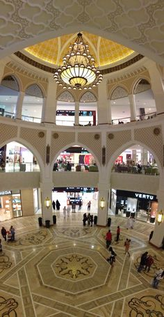 The Dubai Mall. The Largest mall in the world.