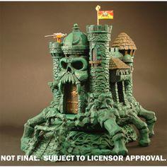 Castle Grayskull Statue Deluxe Accessory Set 3