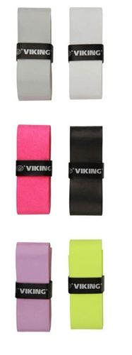 High tack overgrip from Viking. Choose from white, black, gray, pink, purple or green