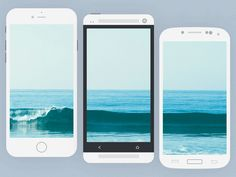 http://getcraftwork.com/flat-mobile-devices-mockups/ Flat Mobile Devices Mockups Enjoy the free mobile mockup. All the screens have the same size (iPhone 6 resolution), so you don't have to crop your screenshot!