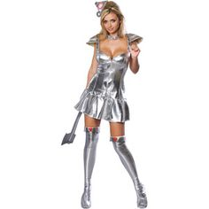 Tin Woman Adult Halloween Costume