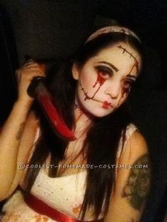 Evil Doll Costume | Evil Doll and Her Evil Baby Spooky Couples Halloween Costume