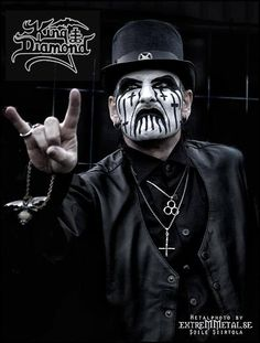 King Diamond - Picture by my friend Soile!!! Check out her work! http://www.extremmetal.se/