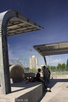 Shade Structures - Metro Skate Park | Burnaby BC | Designed by space2place