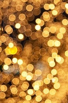 Picture of christmas bokeh stock photo, images and stock photography. Gold Bokeh, Gold Aesthetic, Aesthetic Gif, Nouvel An, Jolie Photo, Large Photos, Mellow Yellow, Orange Yellow, Photo Props