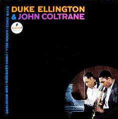 "Duke Ellington and John Coltrane   Label: Impulse A-30   12"" LP 1963   Design: Robert Flynn   Photo: Bob Ghiraldini"