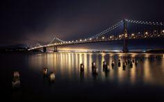 1920x1200 HD Widescreen bay bridge
