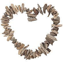Buy John Lewis Driftwood Heart Online at johnlewis.com