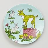 Serve the perfect ploughmans lunch on a MOZI melamine plate. This high quality, enduring range of melamine tells a farmhouse story at your table or when artfully displayed on kitchen walls.