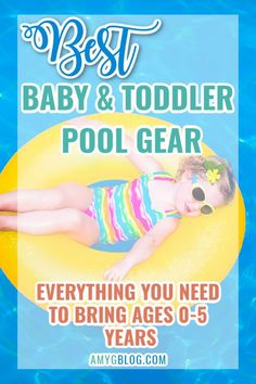 Looking for the best pool gear for babies and toddlers? Then look no further. Here's your one stop shop for what you need to get and keep in your pool bag all summer long! Practical Parenting, Parenting Hacks, Mom And Baby, Baby Kids, Toddler Sleep, Swim Lessons, Pool Days, Summer Baby, Summer Time
