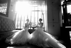 Old Hollywood With A Modern Flair: Wedding Couture by Galia Lahav - Fashion | Popbee