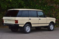 This 1995 Land Rover Range Rover County LWB has 167k miles and benefits from a comprehensive mechanical and cosmetic refresh earlier this year. It features new leather upholstery, an engine-out service with new head gaskets, rubber parts, decked and pressure tested cylinder heads, and a thorough cle